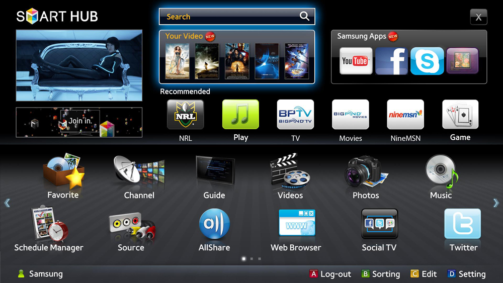 Samsung Agreement With Quickflix New Tricks