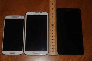 Samsung Galaxy S4, Samsung Galaxy Note 2, Huawei Ascend Mate