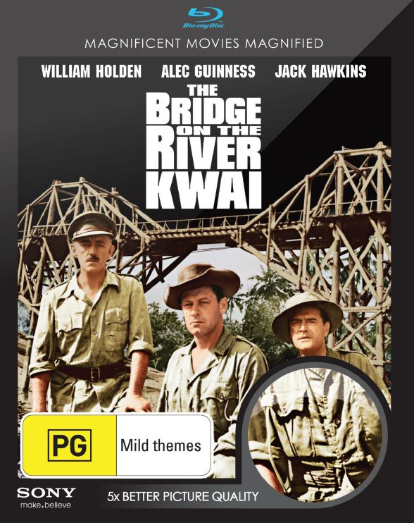 Bridge on the River Kwai Blu-ray