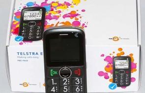 Telstra EasyCall 2 Mobile Phone (Image copyright (c) 2011, Gary Stark)