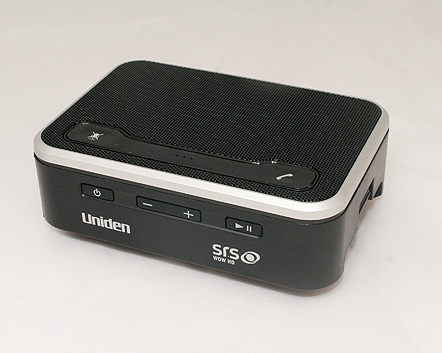 Uniden BTS200 Front View. (Image copyright (c) 2011, Gary Stark)