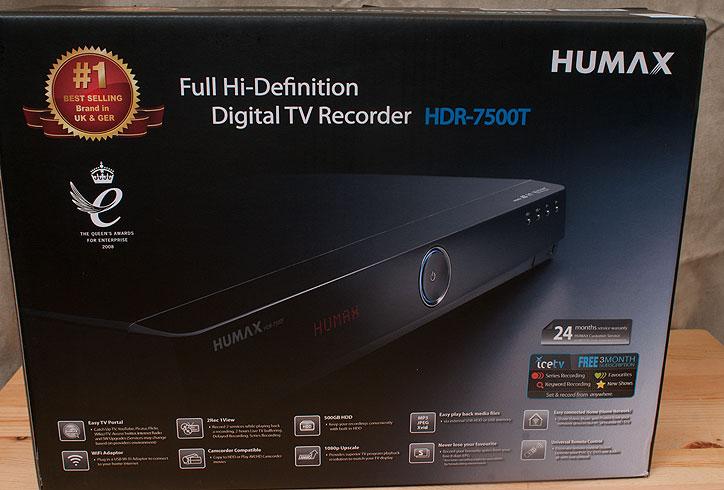 Humax HDR 7500T PVR